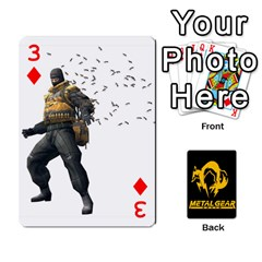 Poker Metal Gear Solid By Rubén   Playing Cards 54 Designs   2c1d1yzrab6z   Www Artscow Com Front - Diamond3