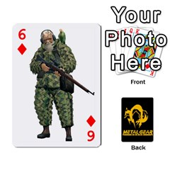 Poker Metal Gear Solid By Rubén   Playing Cards 54 Designs   2c1d1yzrab6z   Www Artscow Com Front - Diamond6