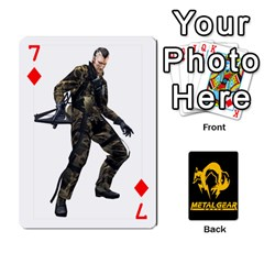 Poker Metal Gear Solid By Rubén   Playing Cards 54 Designs   2c1d1yzrab6z   Www Artscow Com Front - Diamond7