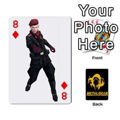 Poker Metal Gear Solid By Rubén   Playing Cards 54 Designs   2c1d1yzrab6z   Www Artscow Com Front - Diamond8