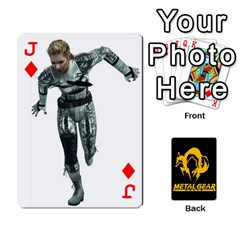 Jack Poker Metal Gear Solid By Rubén   Playing Cards 54 Designs   2c1d1yzrab6z   Www Artscow Com Front - DiamondJ