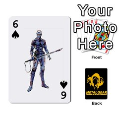Poker Metal Gear Solid By Rubén   Playing Cards 54 Designs   2c1d1yzrab6z   Www Artscow Com Front - Spade6