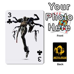 Poker Metal Gear Solid By Rubén   Playing Cards 54 Designs   2c1d1yzrab6z   Www Artscow Com Front - Club3
