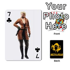 Poker Metal Gear Solid By Rubén   Playing Cards 54 Designs   2c1d1yzrab6z   Www Artscow Com Front - Club7