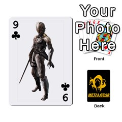 Poker Metal Gear Solid By Rubén   Playing Cards 54 Designs   2c1d1yzrab6z   Www Artscow Com Front - Club9