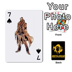 Poker Metal Gear Solid By Rubén   Playing Cards 54 Designs   2c1d1yzrab6z   Www Artscow Com Front - Spade7