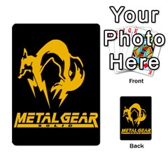 Poker Metal Gear Solid By Rubén   Playing Cards 54 Designs   2c1d1yzrab6z   Www Artscow Com Back