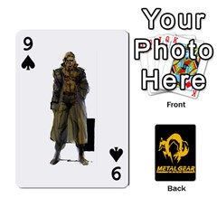 Poker Metal Gear Solid By Rubén   Playing Cards 54 Designs   2c1d1yzrab6z   Www Artscow Com Front - Spade9