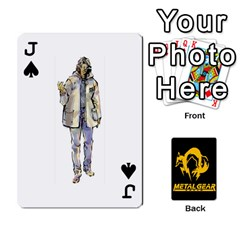 Jack Poker Metal Gear Solid By Rubén   Playing Cards 54 Designs   2c1d1yzrab6z   Www Artscow Com Front - SpadeJ
