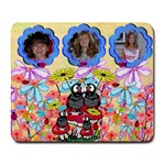 ladybug family mousepad - Collage Mousepad