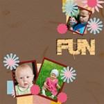 fun - ScrapBook Page 8  x 8