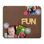 fun - Large Mousepad