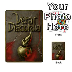 Vera Discordia Akeyrith Army En By Petrf   Multi Purpose Cards (rectangle)   Qla2jtx9c8vh   Www Artscow Com Back 12