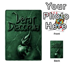 Vera Discordia Akeyrith Army En By Petrf   Multi Purpose Cards (rectangle)   Qla2jtx9c8vh   Www Artscow Com Back 30