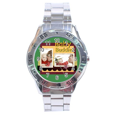 Baby By Joely   Stainless Steel Analogue Watch   V0q2gkmwcwdz   Www Artscow Com Front