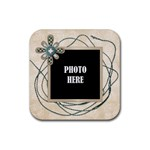 Watch Me Grow Boy- Coaster Set 1 - Rubber Square Coaster (4 pack)