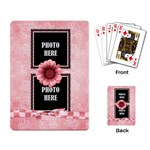 Watch Me Grow Girl-Playing Cards 1 - Playing Cards Single Design