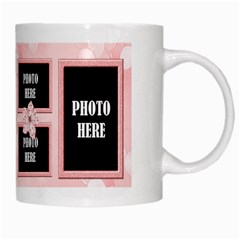 Watch Me Grow Girl Mug 1 By Lisa Minor   White Mug   88vximuu14wz   Www Artscow Com Right