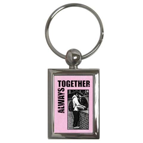 Always Together   Key Chain By Carmensita   Key Chain (rectangle)   Myhxq90jgk2g   Www Artscow Com Front