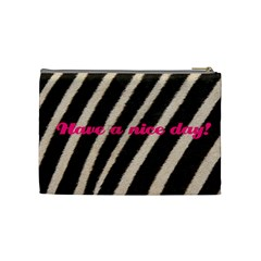 Have A Nice Day By Carmensita   Cosmetic Bag (medium)   Nv521pl30bgn   Www Artscow Com Back