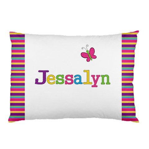 Girls Pillow Case   Personalised With Name By Mum2 3boys   Pillow Case   9l608fjam6kh   Www Artscow Com 26.62 x18.9 Pillow Case