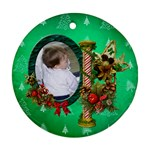 SimplyChristmas Vol1 - Round Ornament(Two Sides)  - Round Ornament (Two Sides)
