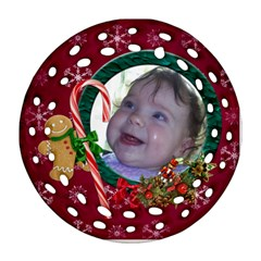 Simplychristmas Vol1  Round Filigree (2sides)  By Picklestar Scraps   Round Filigree Ornament (two Sides)   Pv7276ls5slp   Www Artscow Com Front