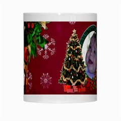 Simplychristmas Vol1   White Mug  By Picklestar Scraps   White Mug   0jkswh3sbuzz   Www Artscow Com Center