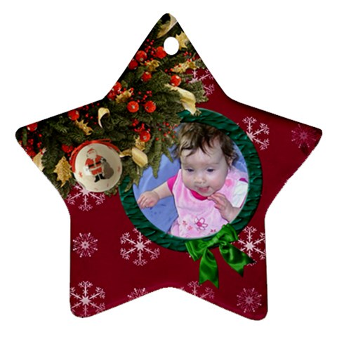 Simplychristmas Vol1   Ornament (star)  By Picklestar Scraps   Ornament (star)   G2r9ti3rq291   Www Artscow Com Front