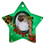 SimplyChristmas Vol1 - Star Ornament(2 sides)  - Star Ornament (Two Sides)