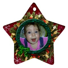 Simplychristmas Vol1   Star Ornament(2 Sides)  By Picklestar Scraps   Star Ornament (two Sides)   Qvc01qu792jt   Www Artscow Com Back