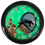 SimplyChristmas Vol1 - Wall Clock(Black)  - Wall Clock (Black)