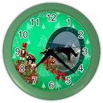 SimplyChristmas Vol1 - Color Wall Clock