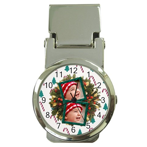 Simplychristmas Vol1   Money Clip Watch  By Picklestar Scraps   Money Clip Watch   Rmkd7qmqw42p   Www Artscow Com Front