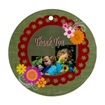thank you - Ornament (Round)