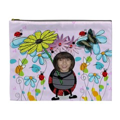 Ladybug Kids Cosmetic Bag (xl) By Kim Blair   Cosmetic Bag (xl)   R8jba6os1zx7   Www Artscow Com Front