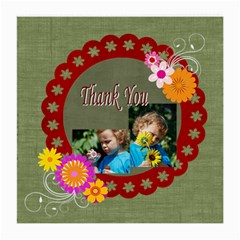 Thank You By Jacob   Medium Glasses Cloth (2 Sides)   E6ljv3oludrq   Www Artscow Com Back