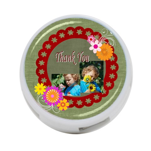 Thank You By Jacob   4 Port Usb Hub (one Side)   La3p35efjdzt   Www Artscow Com Front