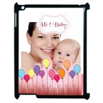 hi baby - Apple iPad 2 Case (Black)