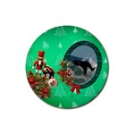 SimplyChristmas Vol1 - Rubber Round(4pack)  - Rubber Round Coaster (4 pack)