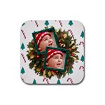 SimplyChristmas Vol1 - Rubber Square(4pack)  - Rubber Square Coaster (4 pack)