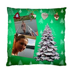 Simplychristmas Vol1   Cushion Case(2 Sides)  By Picklestar Scraps   Standard Cushion Case (two Sides)   Zdz18eimxe49   Www Artscow Com Front