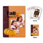 fall - Playing Cards Single Design