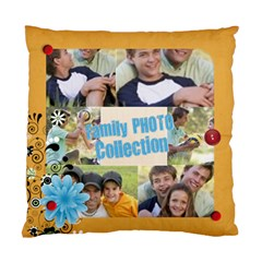 Family By Joely   Standard Cushion Case (two Sides)   Gimzmc40dork   Www Artscow Com Front