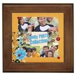 family - Framed Tile