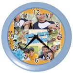family - Color Wall Clock