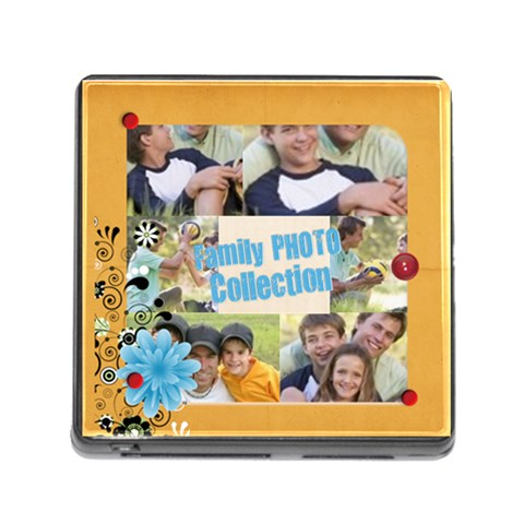 Family By Joely   Memory Card Reader (square)   T1mvf84ztdkc   Www Artscow Com Front