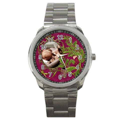 Shabbychristmas Vol1   Sport Metal Watch  By Picklestar Scraps   Sport Metal Watch   6fljmeaciis2   Www Artscow Com Front