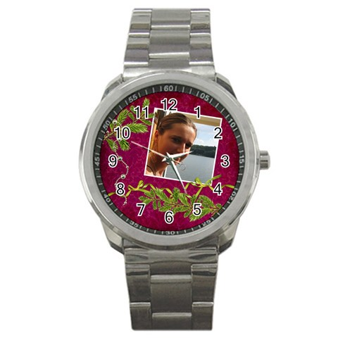 Shabbychristmas Vol1   Sport Metal Watch  By Picklestar Scraps   Sport Metal Watch   27kdqasoj6vm   Www Artscow Com Front