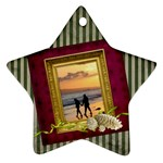 ShabbyChristmas Vol1 - Ornament(Star)  - Ornament (Star)